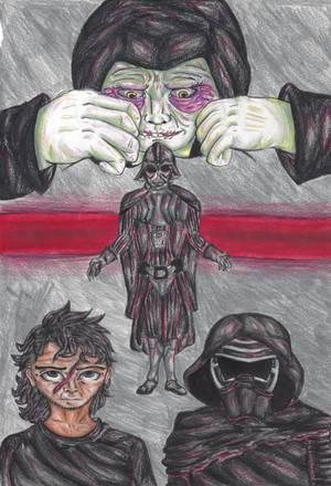 The Dark Side --(Star Wars)-- by rambowcomit