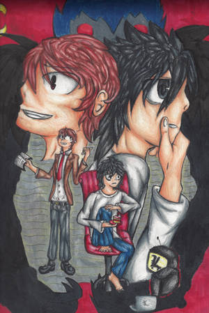 Death Note by rambowcomit