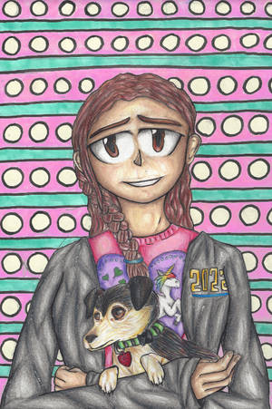 Girl with a Dog by rambowcomit