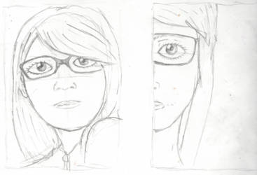 Self Portrait Thumbnails (6/6) Realistic Practice by rambowcomit