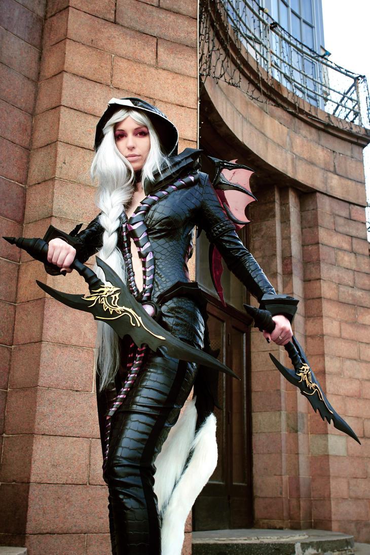 Aion cosplay elyos Assassin by LilBiliy