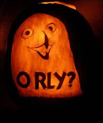 O RLY? Jack O' Lantern by JRSly