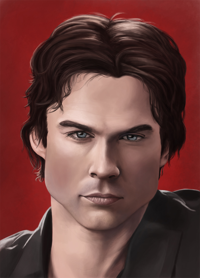 Damon Salvatore by JRSly