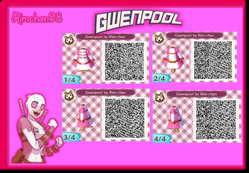 Gwenpool QR CODE