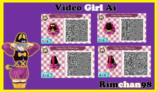 Video Girl Ai Qr code