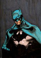 Commission - Batman by Wolfhusky123
