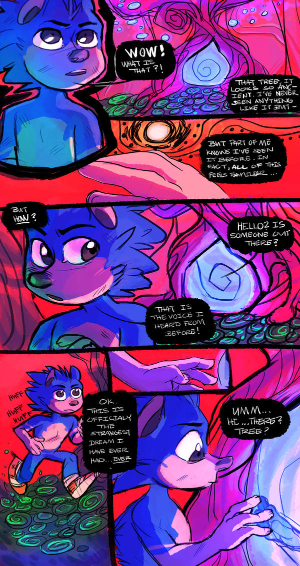 CHAPTER 0: THE DREAM: PAGE  6 by Imaginatik