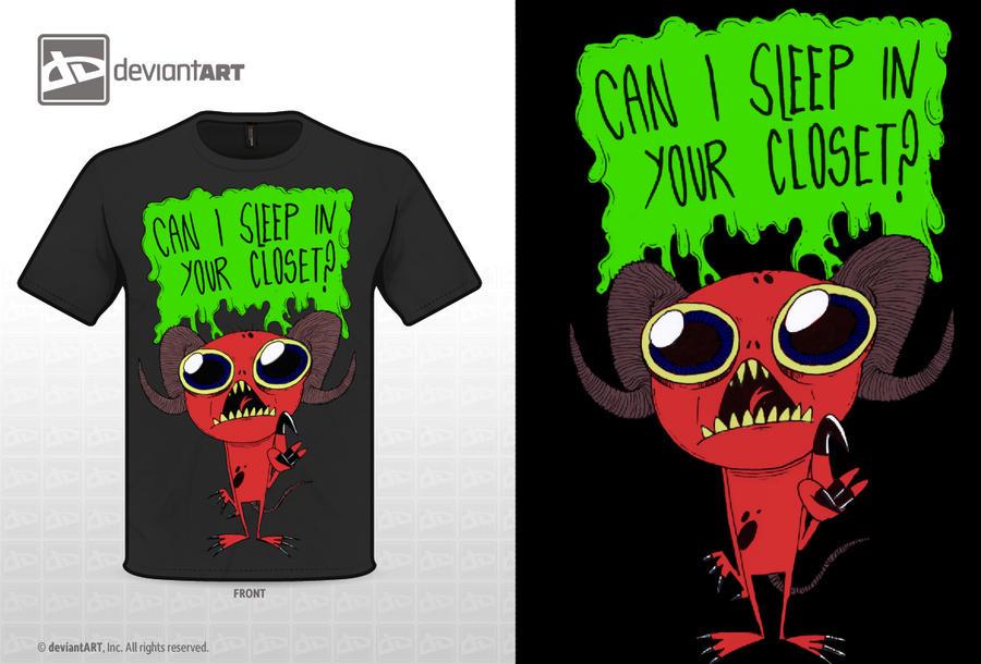 Homeless demon ''T-shirt design'' by espukydum
