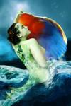 Mermaid Capturing the Music...
