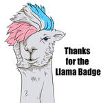 Llama Thanks