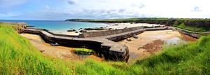 Harris - Port at low tide