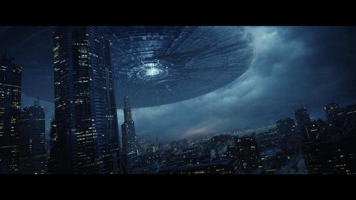 Sci-fi City II by ManuelGrad