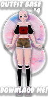 (MMD) Outfit Base #4 | Download!!