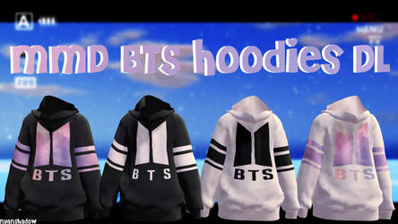 {MMD} BTS Hoodies || Download~!