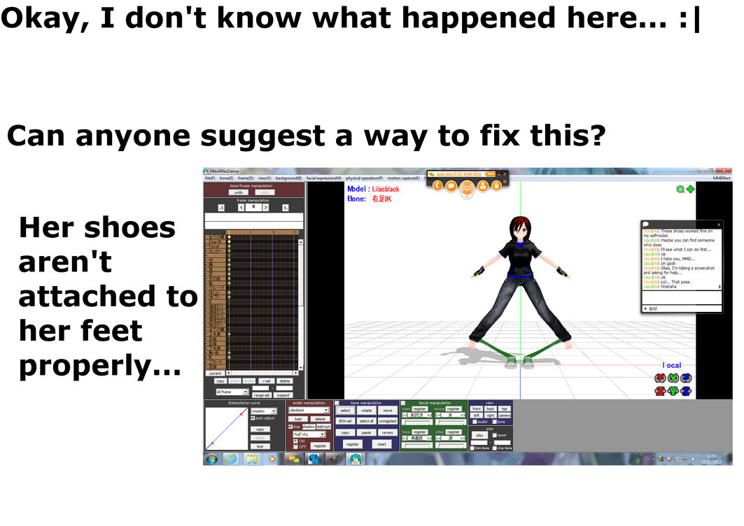 .:MMD:. I don't know how to fix this... by Miku-Nyan02
