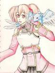 SAO: Silica and Pina by Miku-Nyan02