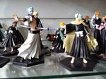 Little Bleach figures. Toshiro vs Grimmjow by Miku-Nyan02