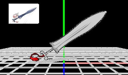 .:MMD:. Tachigami's Sword WIP (Okami) by Miku-Nyan02