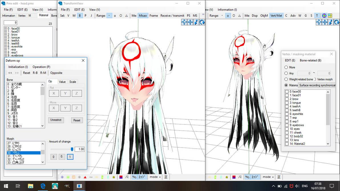 .:PMXe:. Nuregami WIP by Miku-Nyan02