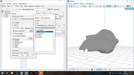 PMXe: Wolf Skull WIP by Miku-Nyan02