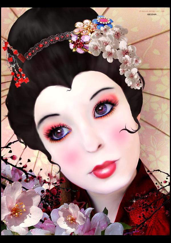 Geisha by nightjohn1986