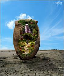 ..My world in a JUG.. by w-melon