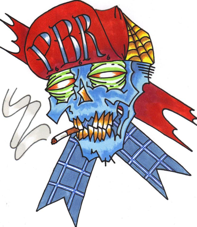 PBR Skull by InkFink