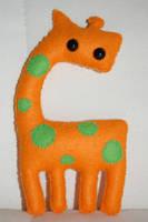 Malcolm the Giraffe by taliasparkle