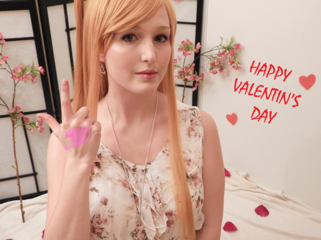 Lucy Heartfilia - Valentine's day 2 by Ayame-Himeru