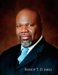 Bishop T D Jakes by cgitech