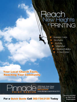 Pinnacle Print Ad