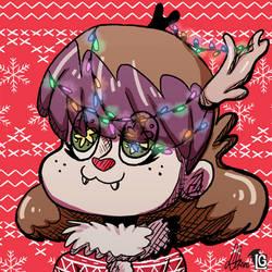 Christmas avatar Graine by LadyGraine