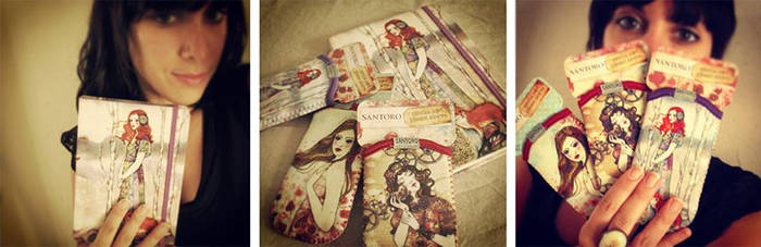 Journal and phone sleeves