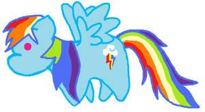 Rainbow Dash by Melody-Serenata