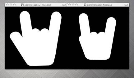 rockmydesk logo by monstrrr