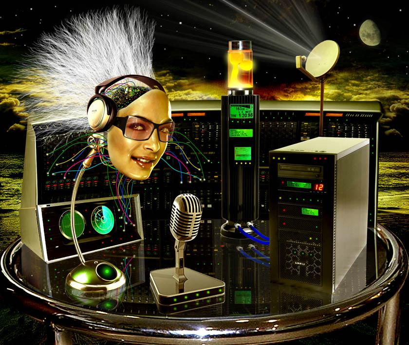 Futuristic DJ by funkwood