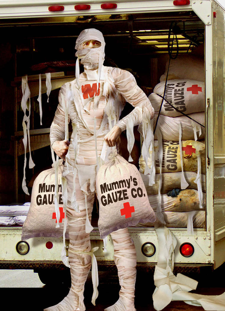 Mummy's gauze company by funkwood