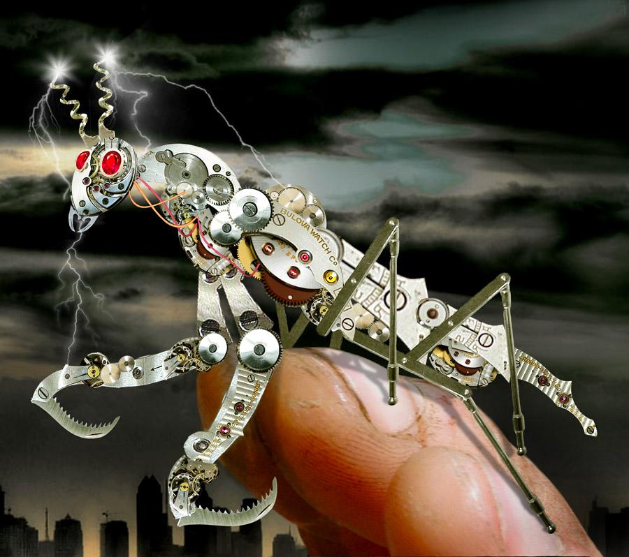 Urban Mantis by funkwood