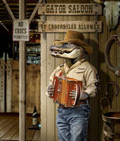 Gator Saloon by funkwood
