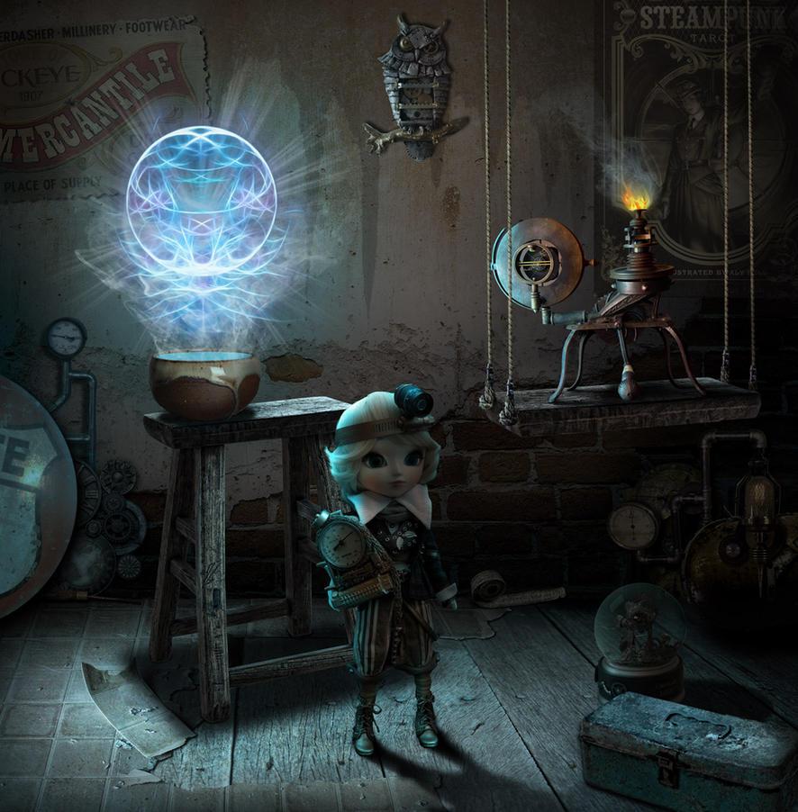 Steampunk Workshop by funkwood