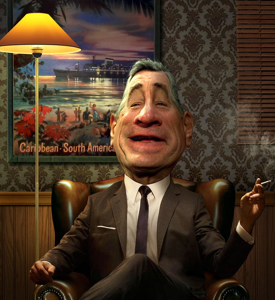 Robert De Niro by funkwood