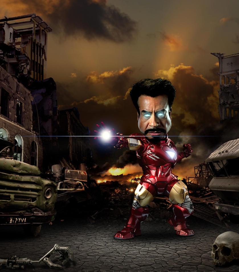 Iron Man Caricature by funkwood