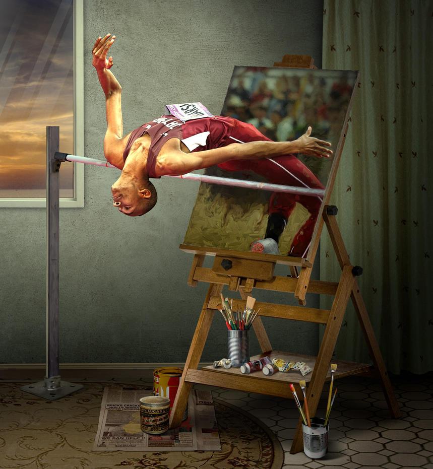 High Jumper by funkwood