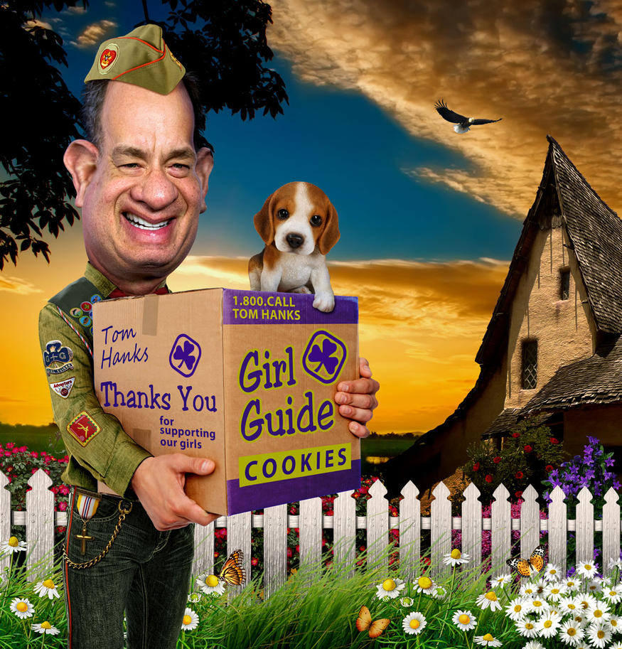 Tom Hanks helps Girl Guides by funkwood