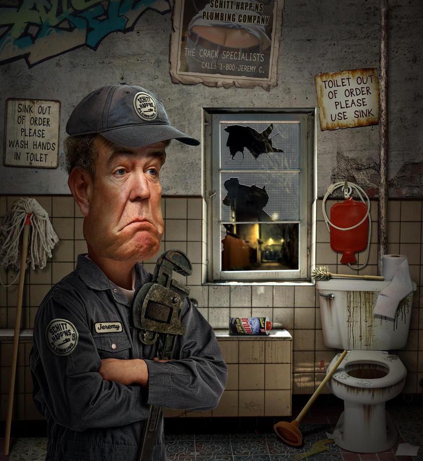 Jeremy Clarkson Plumber by funkwood