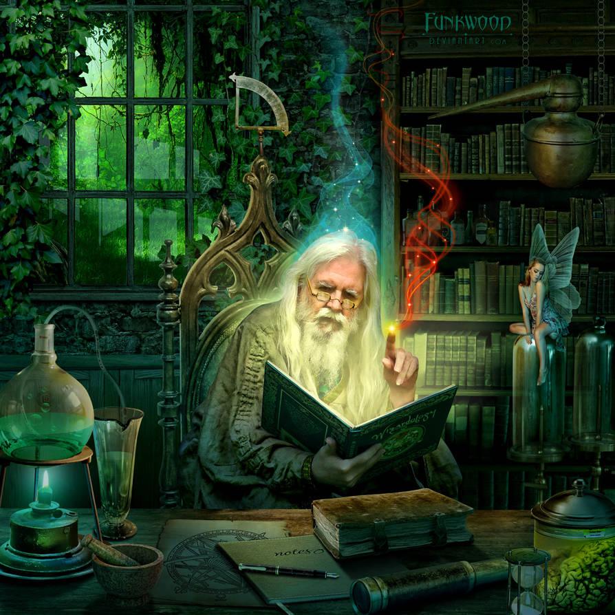 Wizards Den by funkwood