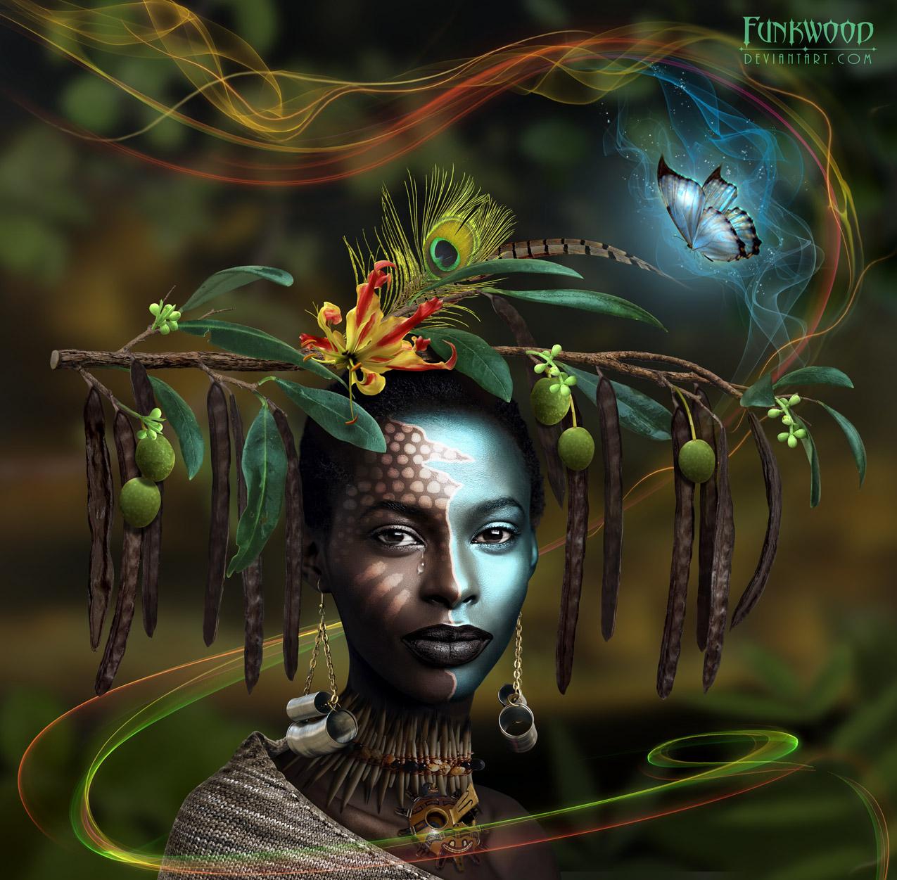 African Princess by funkwood
