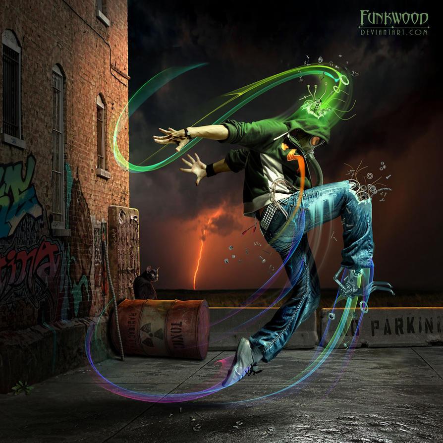Toxic Dancer by funkwood
