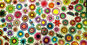 Wallpaper Floral, 3.