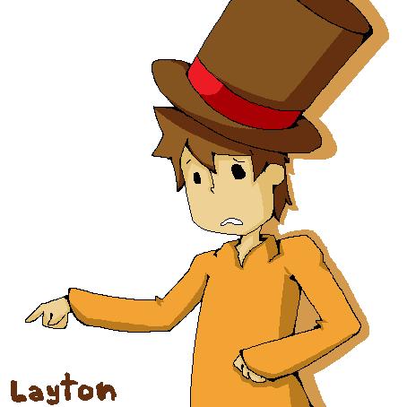 Layton by nekobun13